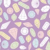 Crystal Gems- Purple