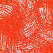 Scribble red