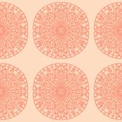 Moroccan Tiles - Peach