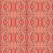 Radiating Angles - Coral