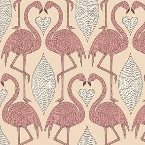 Dashed Flamingo