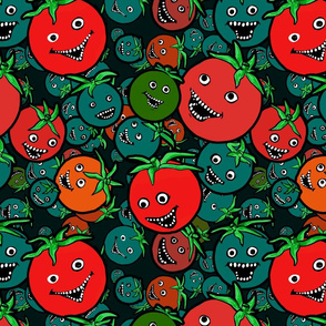 Laughing tomatoes 2