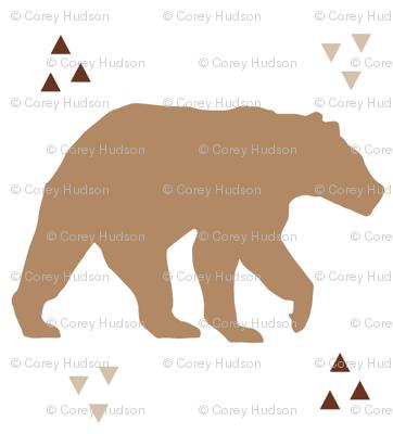 Geo Triangle Bear