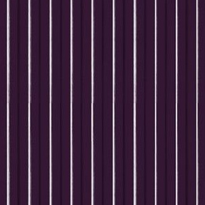 Purple Pinstripe