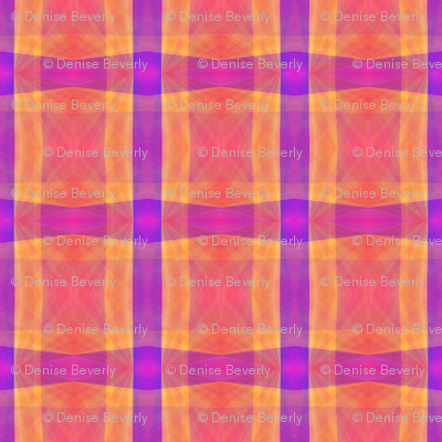 Tropical Sunrise abstract in pink, orange and purple
