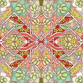 Meandering Celtic Garden