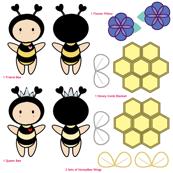 Bugaboo - Purple Flower Honey Bee