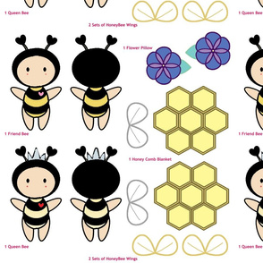 Bugaboo Doll - Purple Flower Honey Bee
