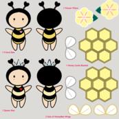 Bugaboo - Yellow Flower Honey Bee