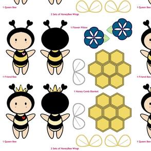 Bugaboo Doll -  Morning Glory Flower Honey Bee