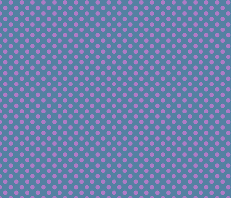maple_and_pampas_dot_blue_lilac__1x1 fabric by leroyj on Spoonflower - custom fabric