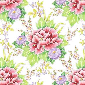 Kimono Bouquet Chintz
