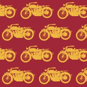 Antique Indians - Red & Gold // Medium