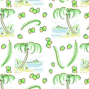 Bora Bora Coconut 3