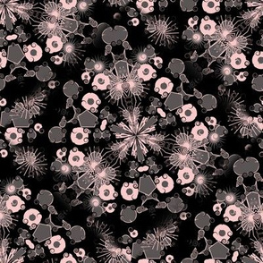 Pink and Grey Pattern