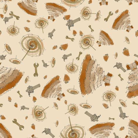Kaylee - smaller fabric by aliceelettrica on Spoonflower - custom fabric