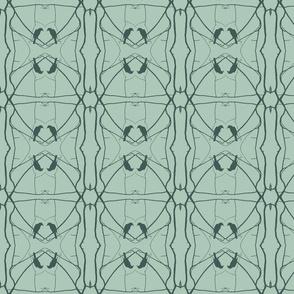 Robin Pattern 2 (Sage)