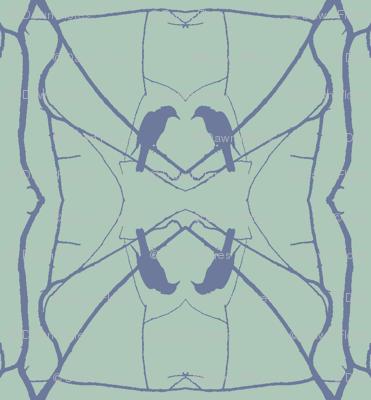 Robin Pattern 2 (Slage & Blue)