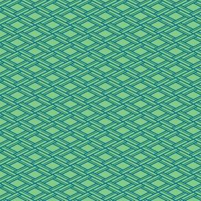 tiny woven Rhombus