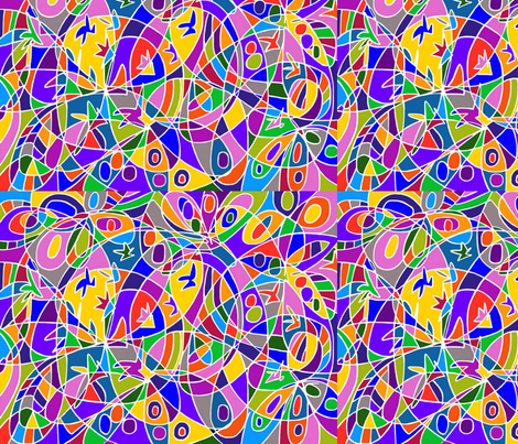 Painting_156 fabric by ellenbrody on Spoonflower - custom fabric