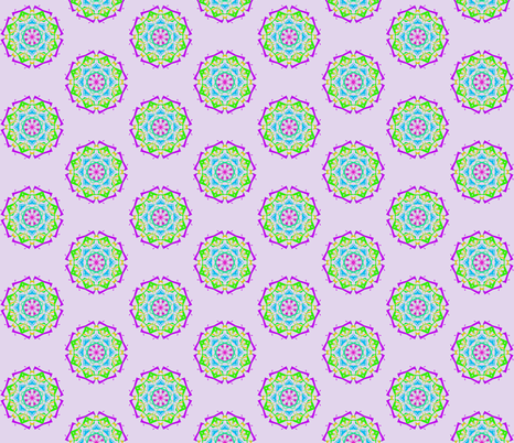 Celestial Portals on Lilac Frost fabric by rhondadesigns on Spoonflower - custom fabric