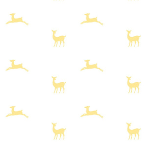 Deer 2 - White lemon Custard