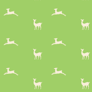 Deer 2 - kiwi cream