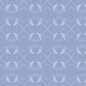 Robin Pattern 1 (Periwinkle)