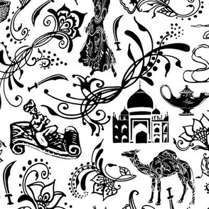 Arabian Nights // Large-size