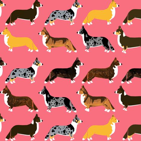 corgi corgis pet dog dogs cute dog best corgi fabric fabric by petfriendly on Spoonflower - custom fabric