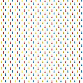 primary pawns on white