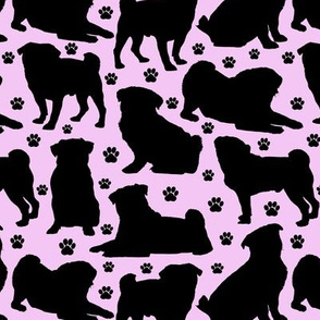 Pugs n Paws - Pink // Small
