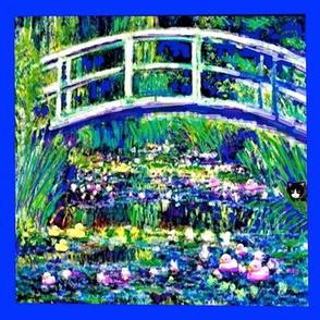 Shebas Pond Blue Frame