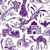 Arabian Nights in Lavender - Large