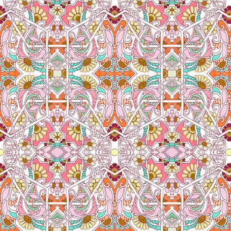 Summer Meadow Samba fabric by edsel2084 on Spoonflower - custom fabric