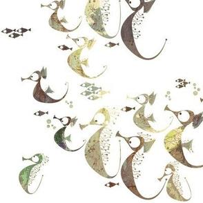Neutral seahorses