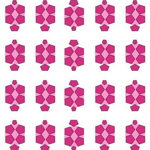 Turtle Pattern 3 in Pink