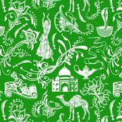 Arabian Nights on Green - Small