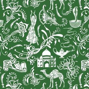 Arabian Nights on Parsley Green // Small-size