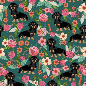 doxie dachshunds dogs pet dog flowers florals baby leggings cute dog faces dog head sweet dogs