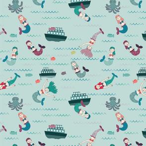 Oceania Mermaids & Sunken Ships