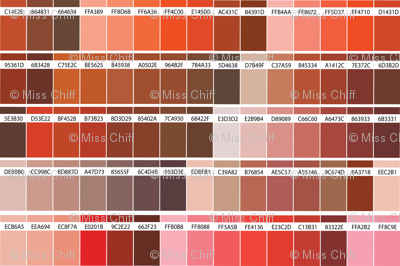16-04T Color Map Red-02_Miss Chiff Designs