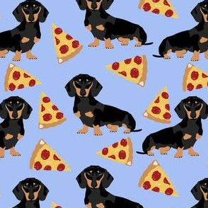 doxie dachshunds dogs pet dog cute pets dachshunds fabric pizza