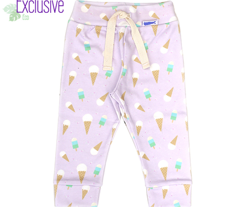Ice Cream Cone & Lollie - Purple // kids design nursery cute summer