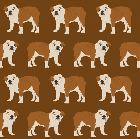 Simple Bulldog Brown Adorable Dog - renglish_bulldog_walking_brown_shop_preview  Image_499012  .png