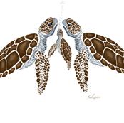 Sea Turtle Family by Salzanos