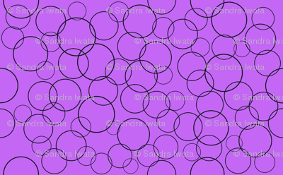 Strage Purple Circles