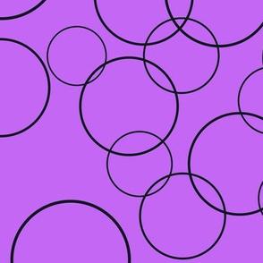 Strage Purple Circles