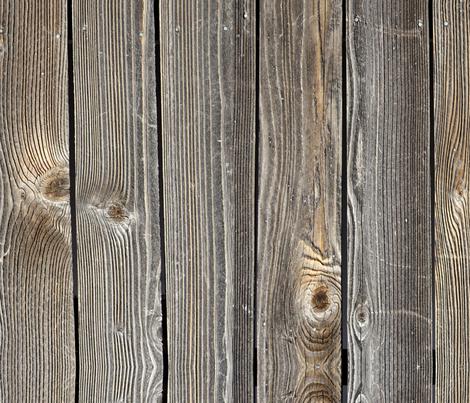 Weathered Wood Planks fabric by pixeldust on Spoonflower - custom fabric