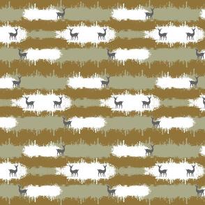 deer camo  2  MEDIUM - brown